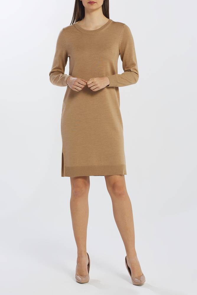 gant Šaty  D1. Merino Wool Dress