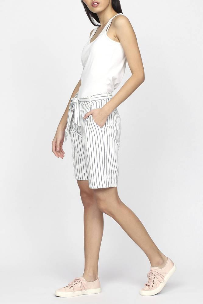 gant Šortky Gant O2. Striped Linen Shorts