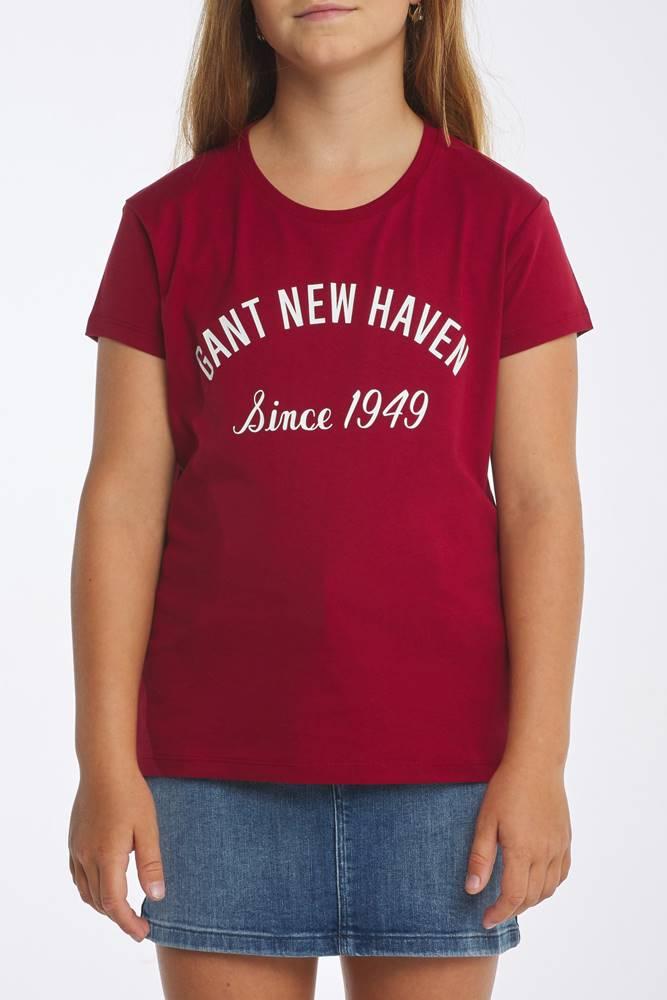 gant Tričko D1.  New Haven Ss T-Shirt