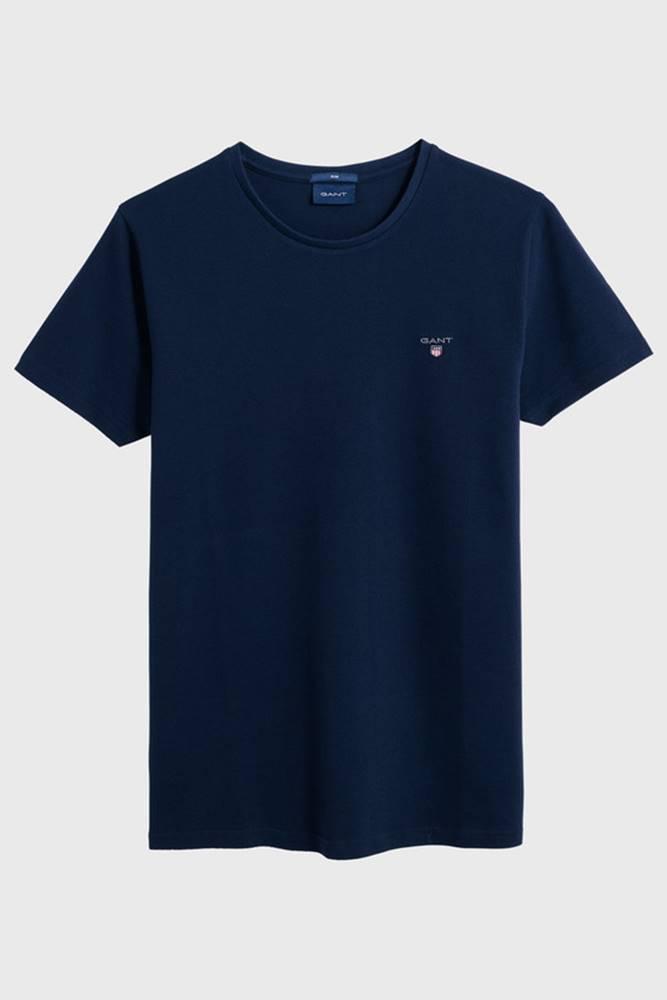 gant Tričko  D1. Slim Pique Ss T-Shirt