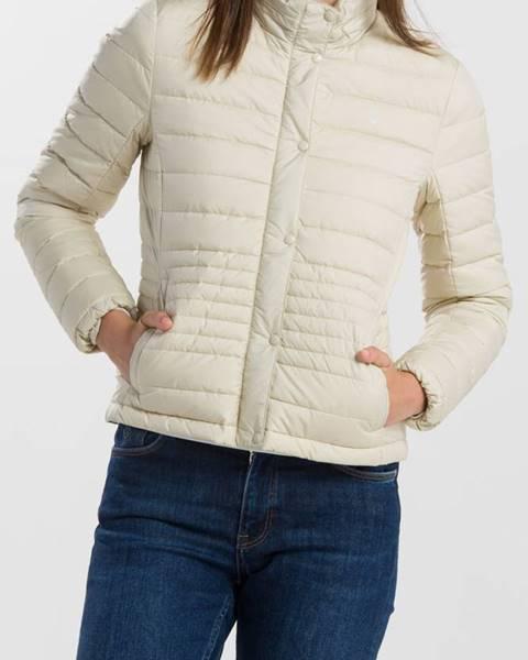 Bílá bunda gant