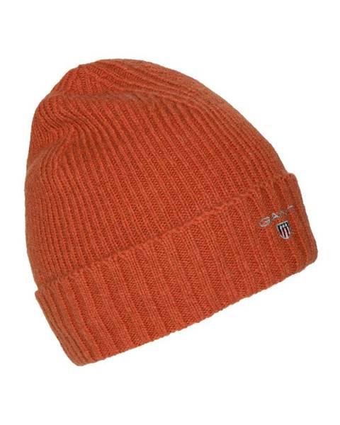 Oranžová čepice gant