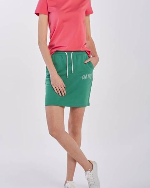 Zelená sukně gant