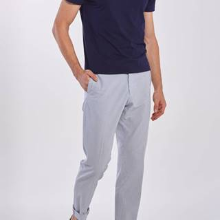 Kalhoty  D2. Seersucker Pant With Cuff