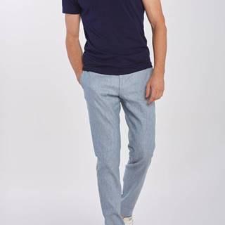 Kalhoty  D2. Slim Stretch Linen Suit Pant