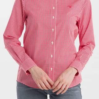 Košile Gant The Broadcloth Gingham Shirt