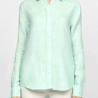Košile Gant The Linen Chambray Shirt