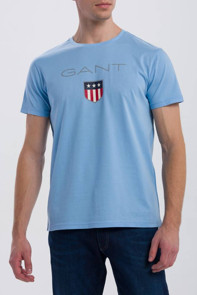 gant Tričko Gant O1. Shield Ss T-Shirt