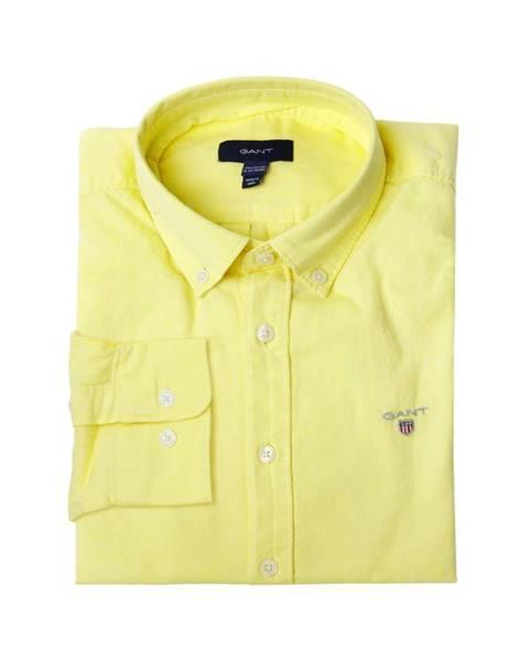 Žlutá košile gant