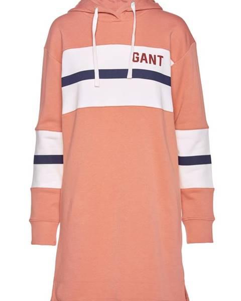 Růžové šaty gant