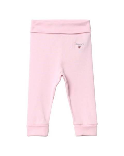 Růžové tepláky gant