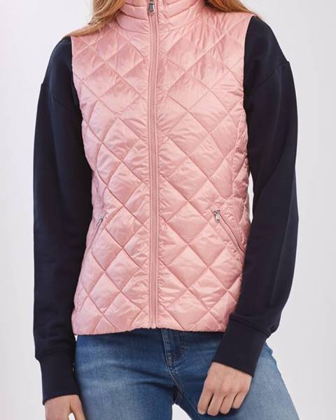 Růžová vesta gant