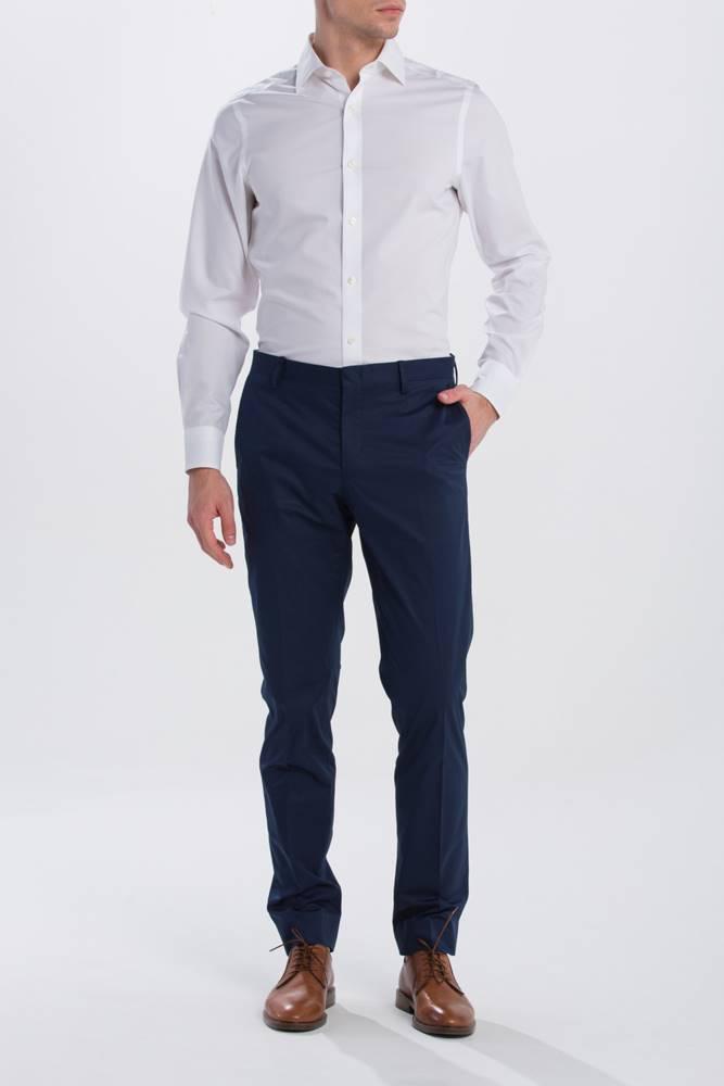 gant Kalhoty  G1. The Breeze Cotton Suit Pant