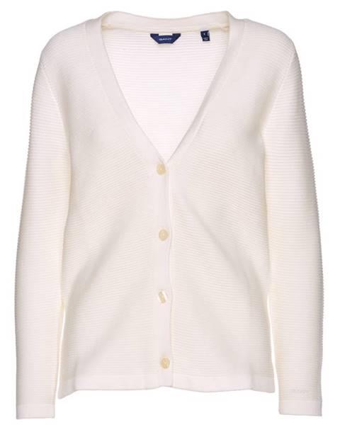 Bílý svetr gant