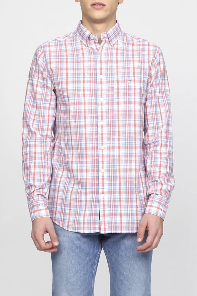 gant Košile Gant O2. Indian Madras Reg Bd