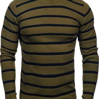 Zelený pánský svetr