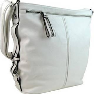 Mahel Tašky přes rameno Moderní velká crossbody kabelka 74-MH bílá ruznobarevne
