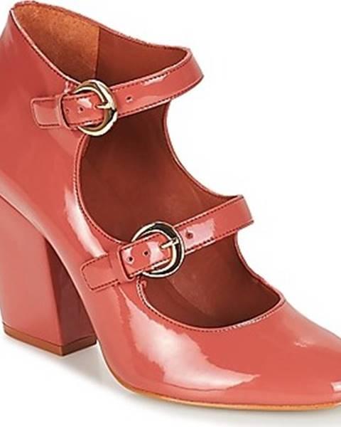 Růžové boty André