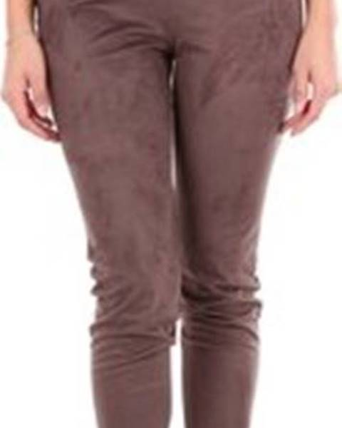 Béžové kalhoty Pierantonio Gaspari