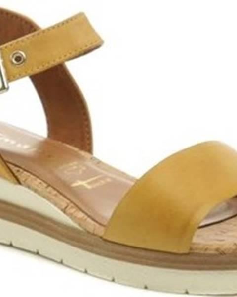 Béžové sandály tamaris