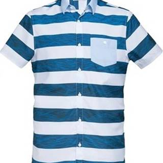 35 Degrés Košile s krátkými rukávy - Modrá