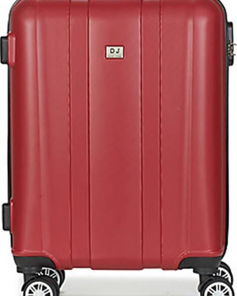 Červený kufr David Jones