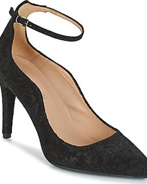 Černé boty Fericelli