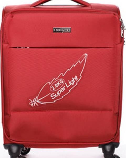 Červený kufr Menqite
