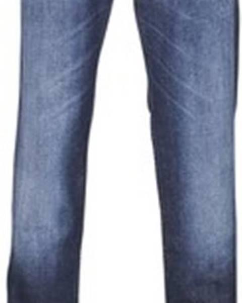 Modré kalhoty Sisley