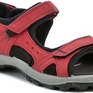 Imac Sandály I2317e52 červené dámské sandály Červená
