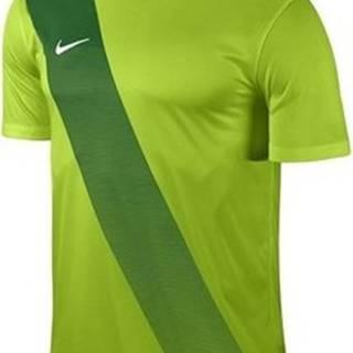 Nike Trička s krátkým rukávem Sash Zelená