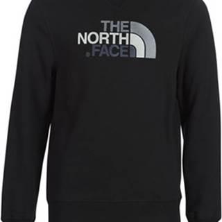 The North Face Mikiny MEN'S DREW PEAK CREW Černá