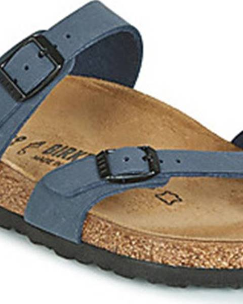 Modré pantofle Birkenstock