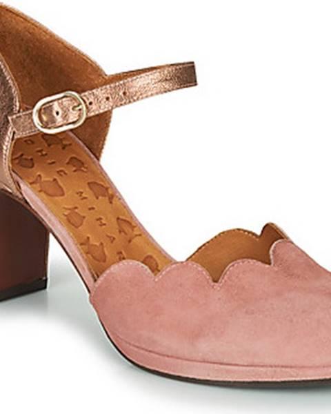 Růžové boty Chie Mihara
