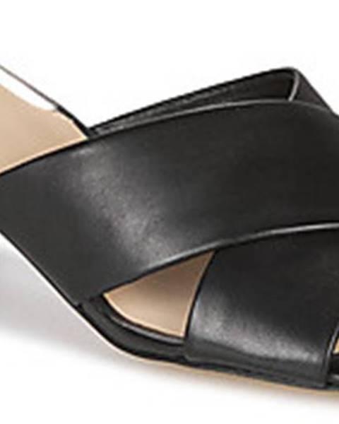 Černé pantofle Guess