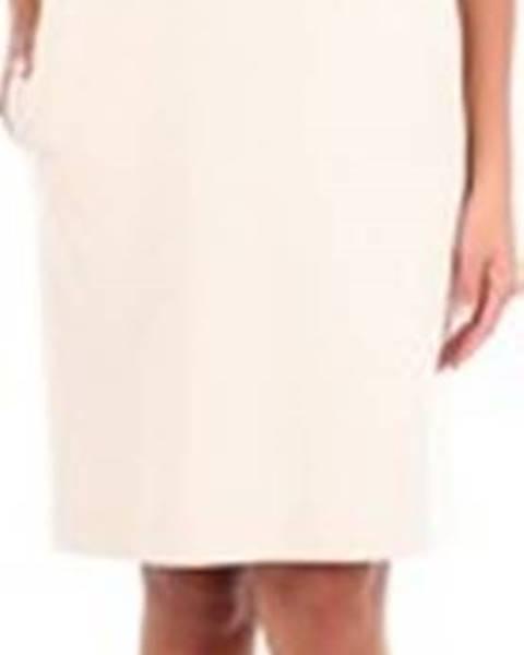 Béžové šaty Moschino