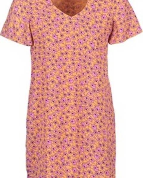 Oranžové šaty vero moda