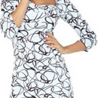 Numoco Krátké šaty Dámské šaty 136-1 ruznobarevne