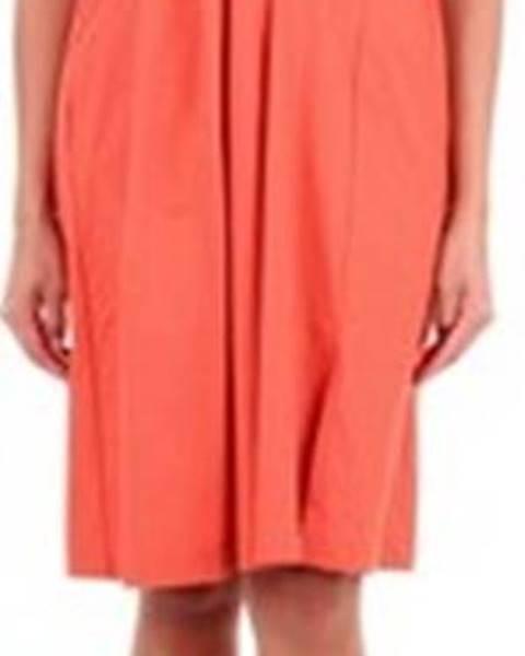 Oranžové šaty Maliparmi