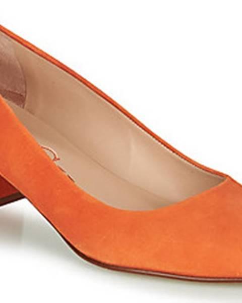 Oranžové boty Paco Gil
