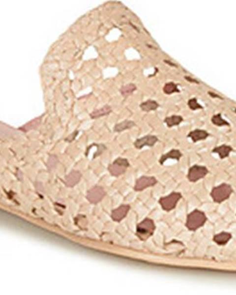 Béžové pantofle Pretty Ballerinas