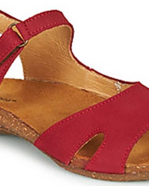 Červené sandály EL NATURALISTA