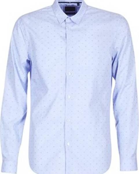 Modrá košile Sisley