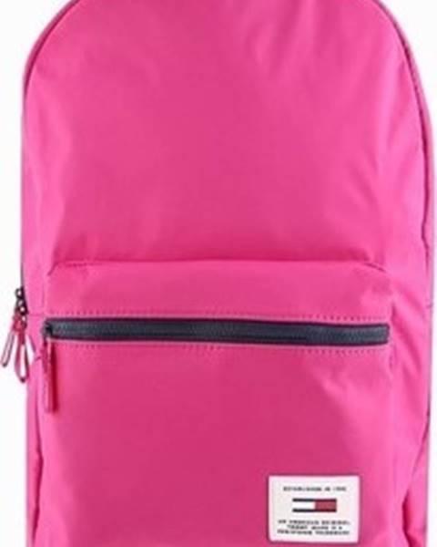 Růžový batoh tommy hilfiger