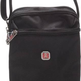 Enrico Benetti Malé kabelky Menší unisex černá crossbody taška - 7140 Černá