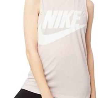 Nike Trička s krátkým rukávem Wmns Essential Tank Růžová