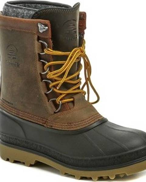 Hnědé boty KAMIK