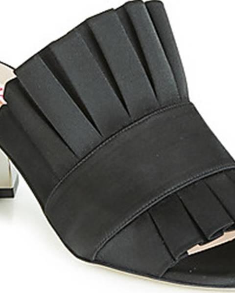 Černé sandály Minna Parikka