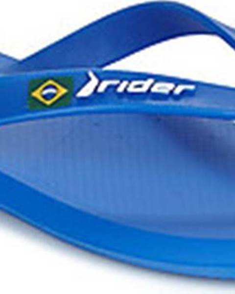 Modré pantofle Rider