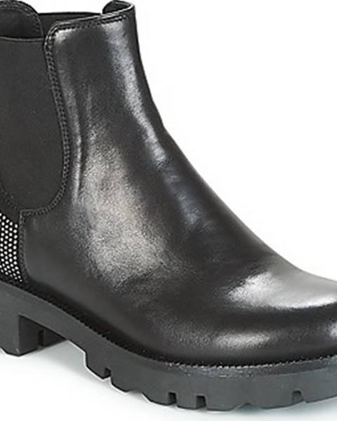 Černé boty Tosca Blu